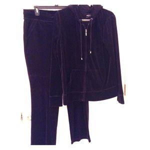 Merona Velour Jog Suit XLG Pants XXLarge Jacket